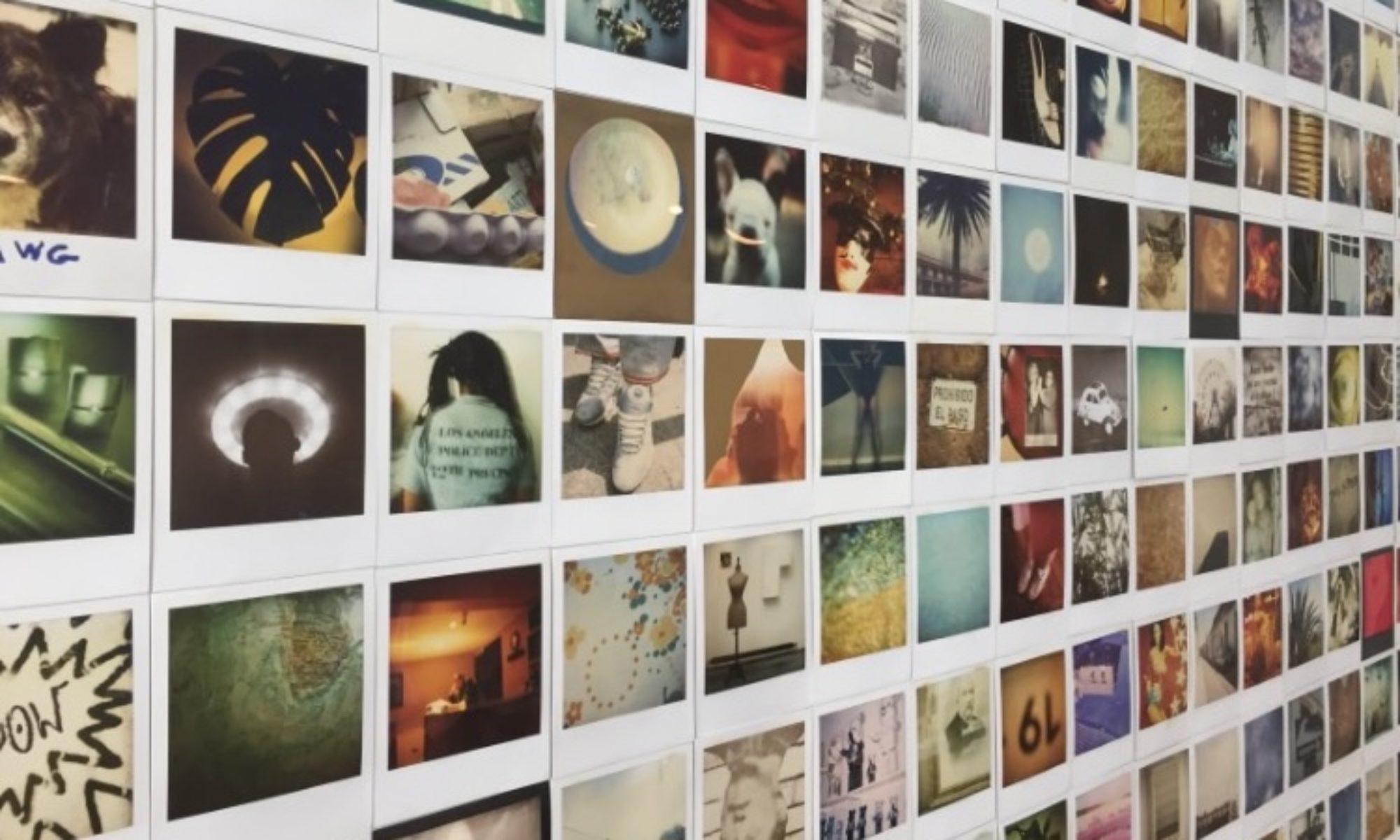 Wall of Fame Polaroid